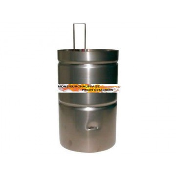 Chambre de combustion sieger tf u 17 2 for Chambre de combustion annulaire