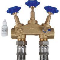 Kit raccord pour installation d'adoucissement d'eau