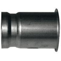 Tube de flamme 80 x 1,5 x 120 mm Hansa, HMG E-DU, 1329