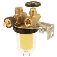 """Oventrop Filtre fioul monotube avec système de retour+ ½"""", Oilpur, Siku,vanne d'arrêt"""