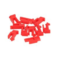 Taquet rouge 10 pièces EU, TA, TFQ, TRQ, TRZ