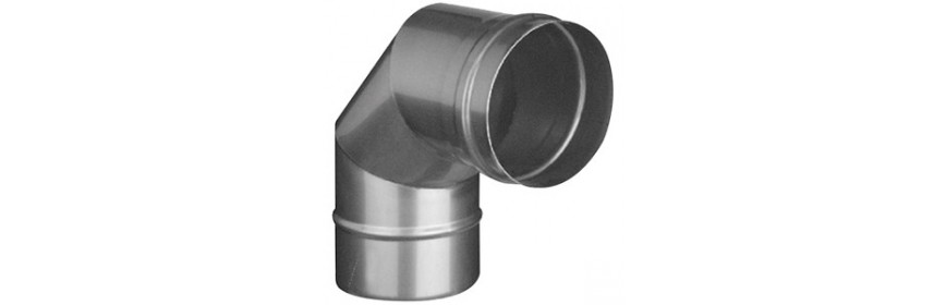 Conduit inox 316 L simple paroi