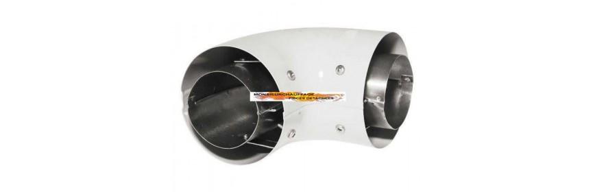 Conduit air/gaz échappement