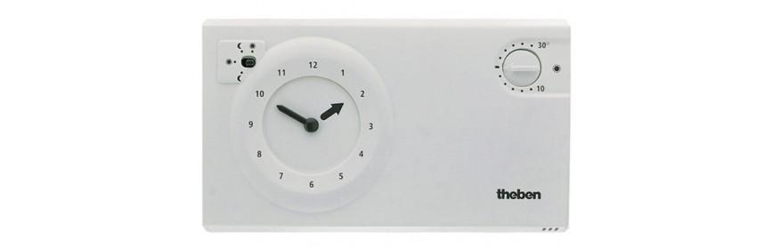 Thermostat à horloge analogique