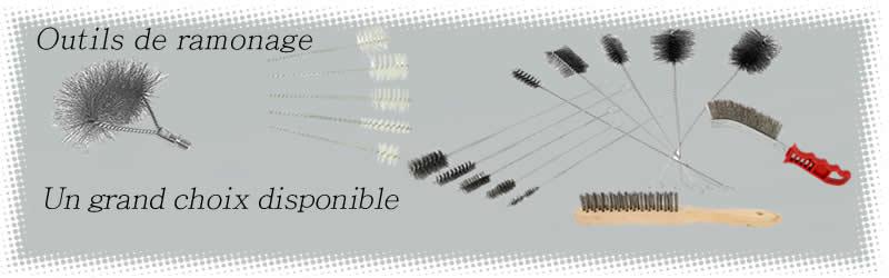Outils de ramonage